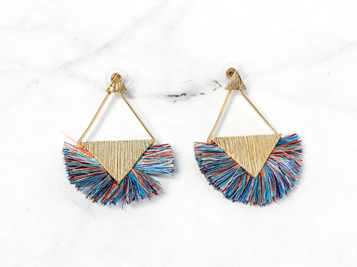 Charming Charlie Multi Fringe Earrings | MSRP $12 | One Pair