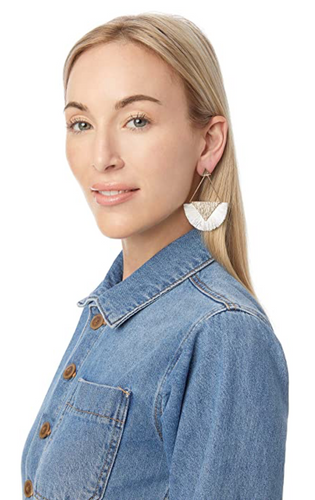 Charming Charlie White Fringe Earrings | MSRP $12 | One Pair