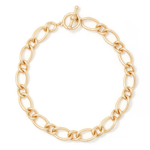 Charming Charlie 16-Inch Chain Links Collar Necklace