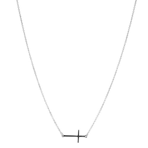 Charming Charlie Horizontal Cross Necklace