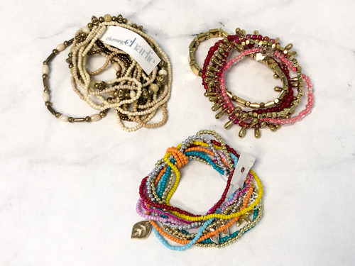 Assorted Layer Beaded Bracelets