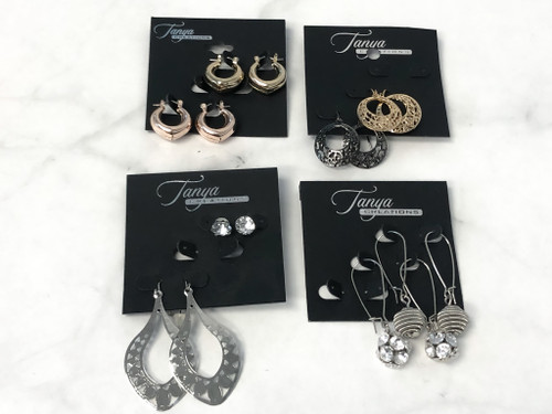 Assorted Earring Lot | 8 Pairs