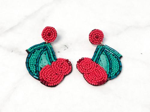 Fruity Bead Earrings