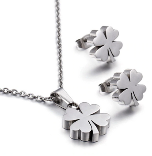 Stainless Steel Shamrock Set