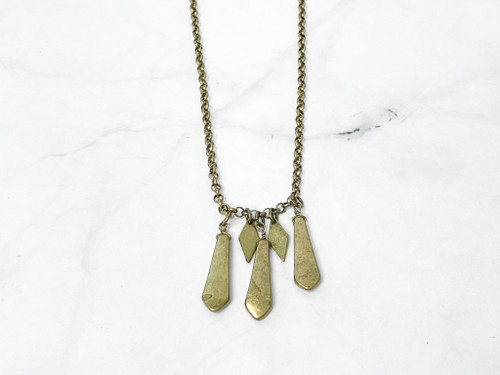 Target Boho Brass Ox Necklace | MSRP 14.99
