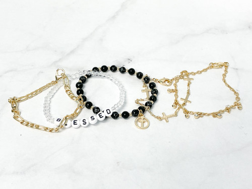 Blessed Layering Bracelet Set