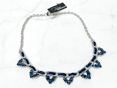 Rhodium Montana Necklace
