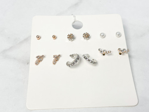Fab and Fierce Earring Pack | 6 Pairs