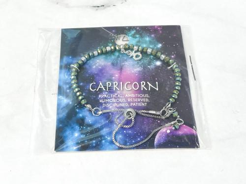Capricorn Slider Bracelet