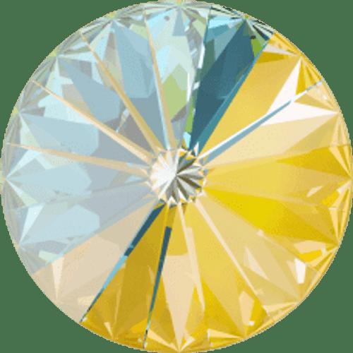 Limited Edition | 12mm | Rivoli | Swarovski Article 1122 | Sunshine DeLite | 12 Pieces