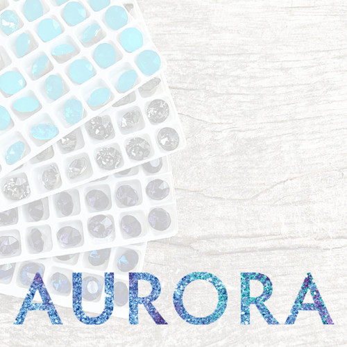 8mm | Chaton | Aurora Article A1088 | Different Quantities Available
