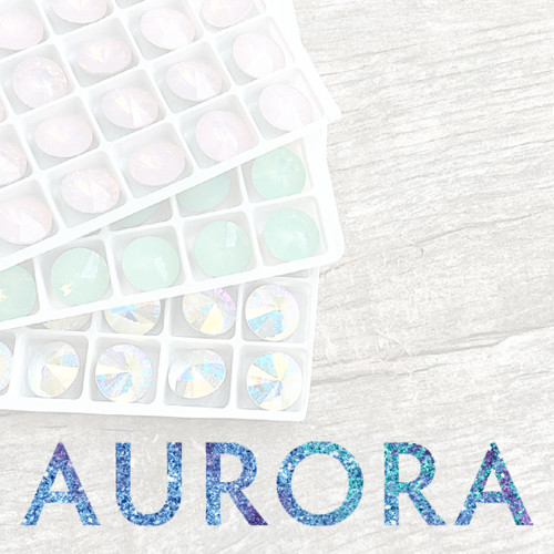 12mm | Rivoli | Aurora Article A1122 | Different Quantities Available