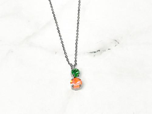 Pumpkin Alternating Necklace