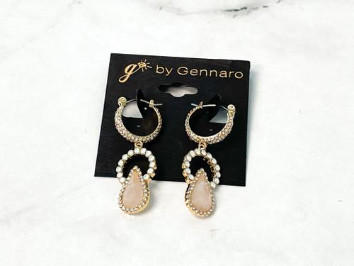Ivana Pink Earrings