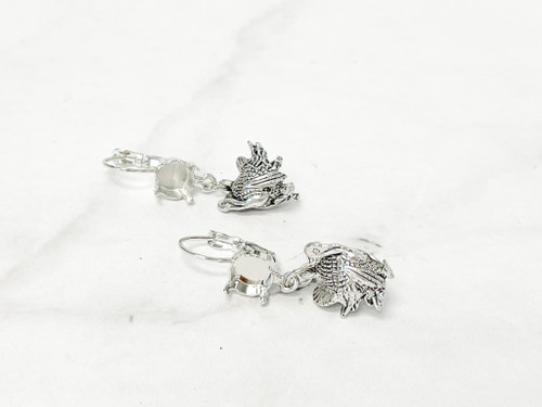 8.5mm   Limited Edition Turkey Drop Earrings   One Pair