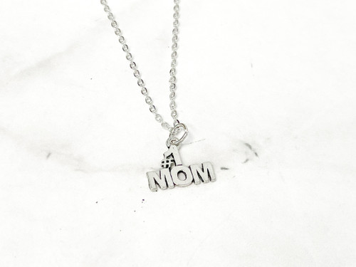 #1 Mom Necklace