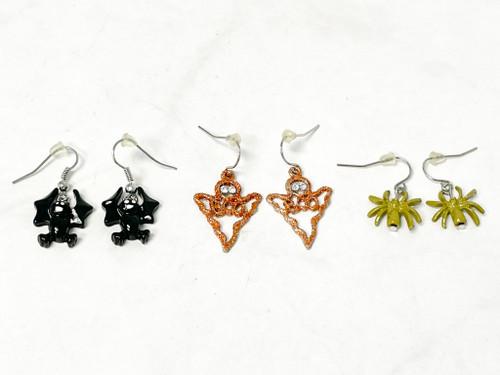 Triple Earrings Halloween Bundle