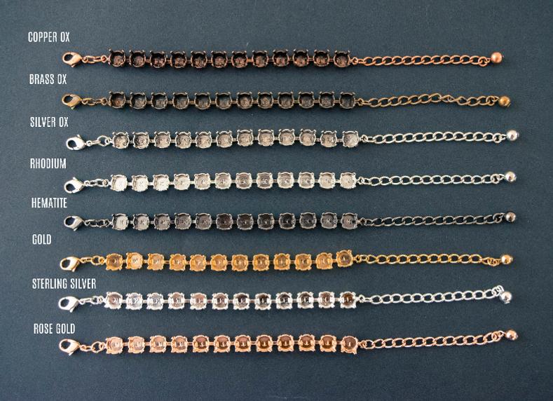 LVR Metal Plating Colors