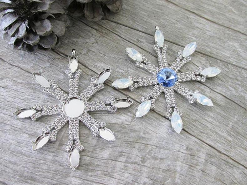 Design your own Snowflake Ornament using Swarovski Crystals
