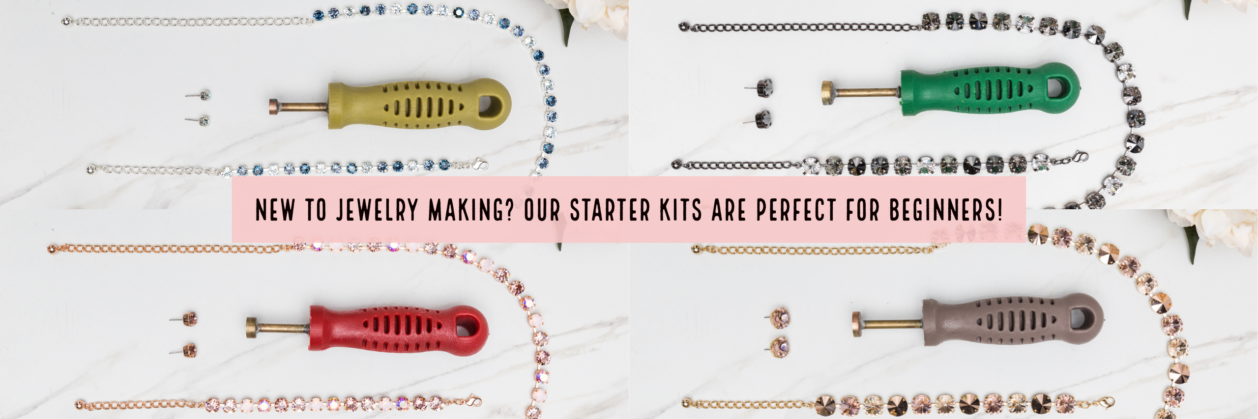 Our Starter Kits are Perfect for Beginners