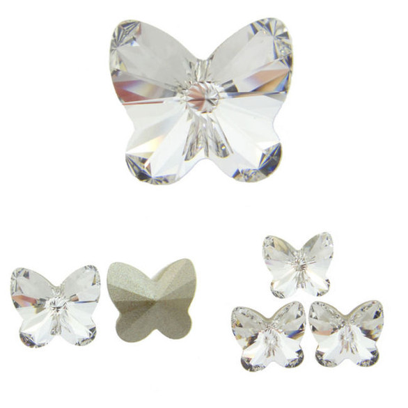 4748 Swarovski® Fancy Stones Rivoli Butterfly