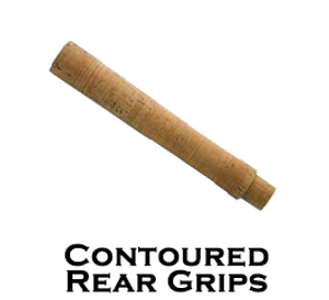Contoured Rear Grips - Premium A-Grade Cork