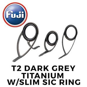 T2 Dark Grey Titanium W/Slim SiC Ring