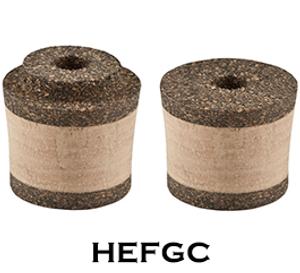 Fore Grips (Short) - Super Grade Cork/HDCC