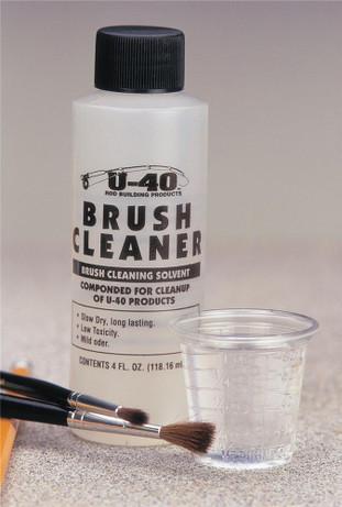 Brush Cleaner - One 4oz Bottle.