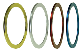 Fuji Solid Color Trim Rings