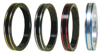 Fuji Dual Color Trim Rings