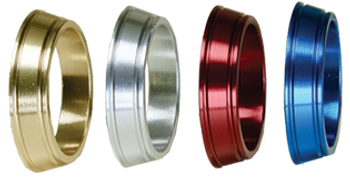 Fuji Solid Color Aluminum Winding Checks