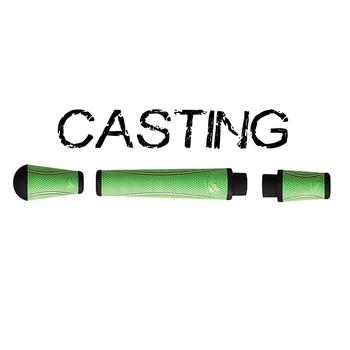 Winn Split Grip Casting Kit - Chartreuse