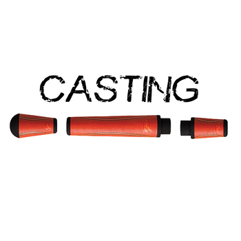 Winn Split Grip Casting Kit - Orange