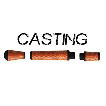 Winn Split Grip Casting Kit - Burnt Orange