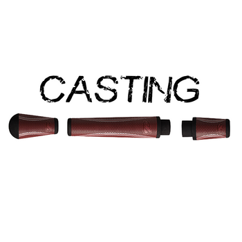 Winn Split Grip Casting Kit - Crimson