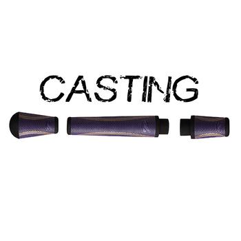 Winn Split Grip Casting Kit - Purple