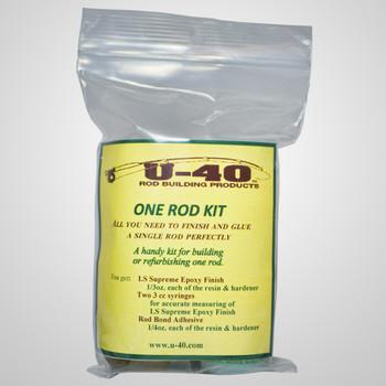 U40 One Rod Epoxy Kit