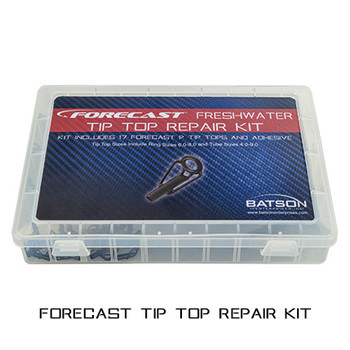 Freshwater Tip Top Kit - Black