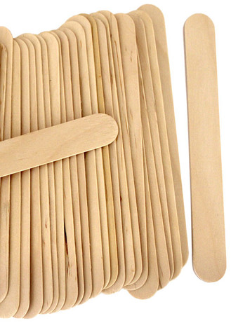 Jumbo Craft Mixing Sticks - 6in