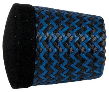 "Forecast Carbon Grip Fighting Butt 1.375"" - Blue"