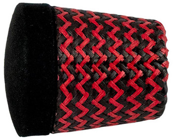"Forecast Carbon Grip Fighting Butt 1.375"" - Red"
