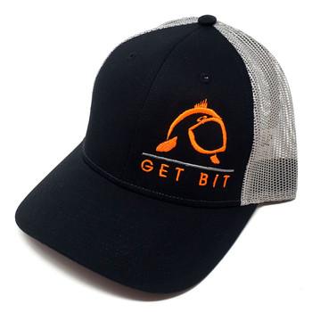 Get Bit Sport Black & Orange Snapback Hat