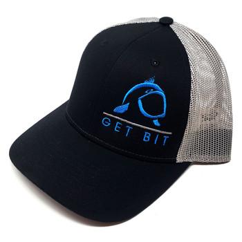 Get Bit Sport Black & Blue Snapback Hat