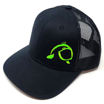 Get Bit Sport Green Fish Slayer Snapback Hat