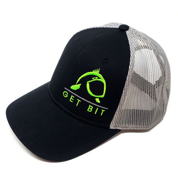 Get Bit Sport Black & Green Snapback Hat