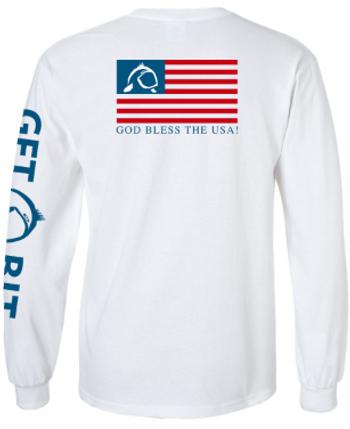 Get Bit USA Long Sleeve T-Shirt