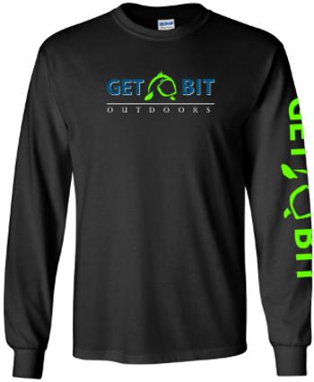 Get Bit Blue Line LongSleeve T-Shirt