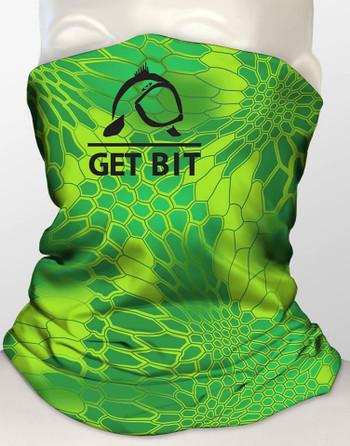 Get Bit Green Gaiter