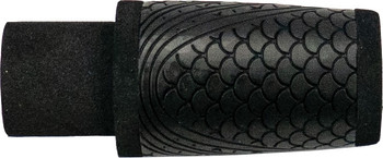 "WINN Split Grip Fighting Butt 2.5"" - Black Fish Scale"